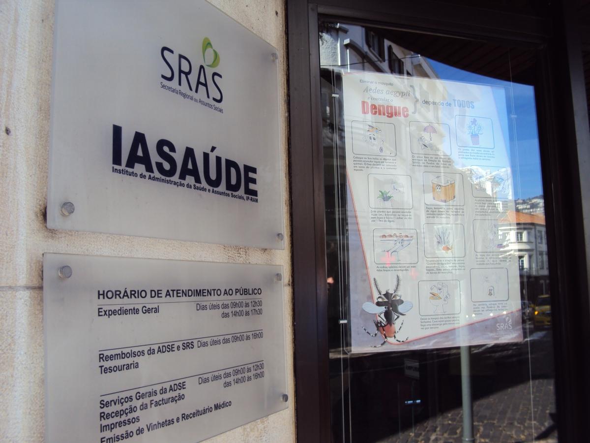 """IASAÚDE passa a chamar-se apenas Instituto de Administração da Saúde perdendo a designação """"e Assuntos Sociais"""""""