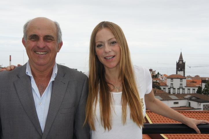 Joana Amaral Dias esteve recentemente na Região para apoiar a candidatura de Coelho à AR. Foto: Rui Marote