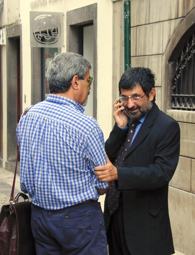Cancio Gonçalves com Leonel Nunes. R. MAROTE DIGITAL