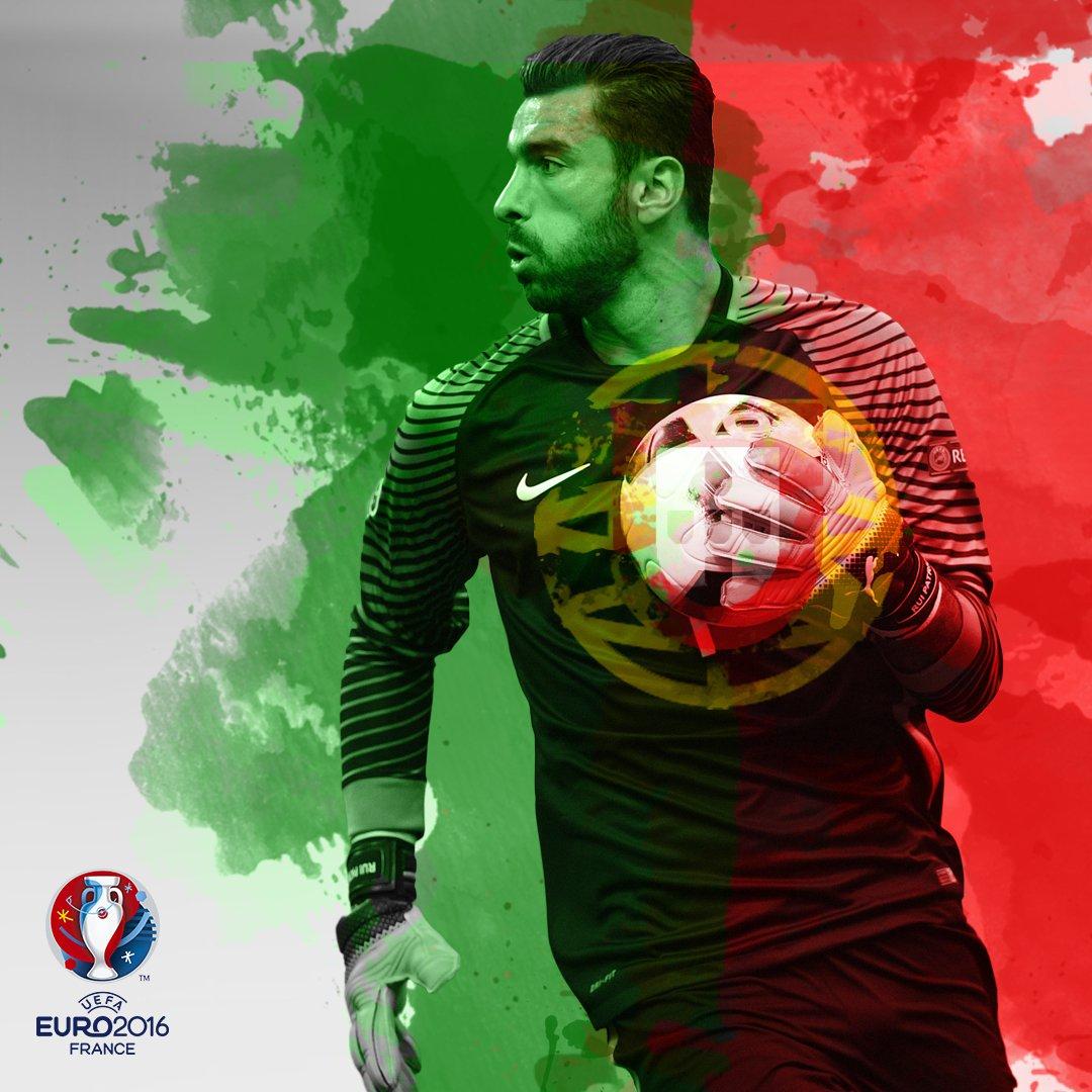 Rui Patrcio foi o jogador que jogou mais tempo neste Euro 2016