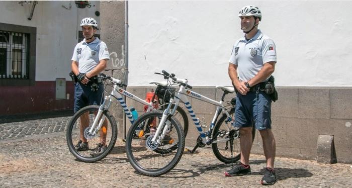 PSP bicicleta Câmara Lobos1