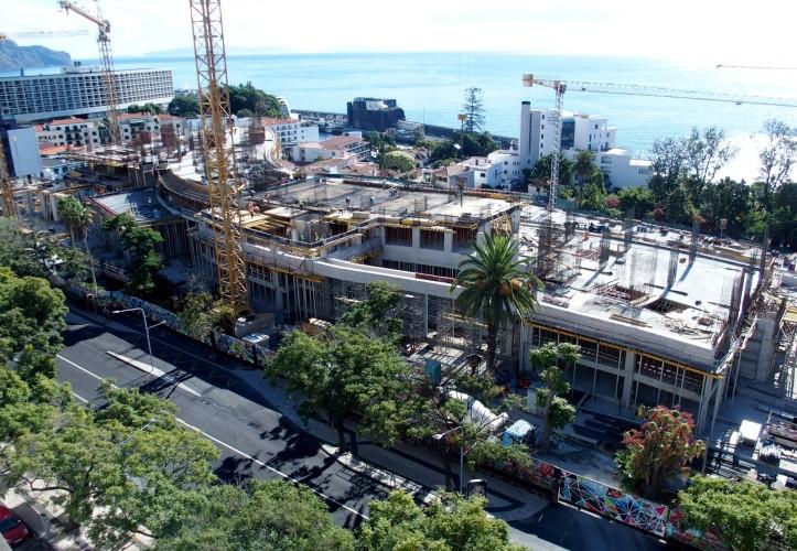 hotel turismo obra construção savoy
