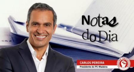 """Nas """"Notas do Dia"""", Carlos Pereira aborda processo Ryanair e aas elevadas taxas aeroportuárias."""