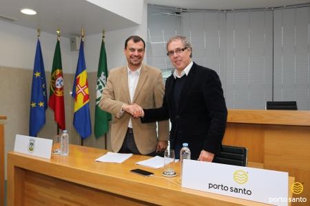 Câmara do Porto Santo e grupo Pestana assinaram contrato de planeamento para avançar com o novo hotel no Porto Santo