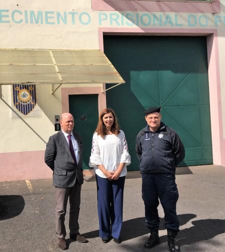 Sara Madruga da Costa visitou o Estabelecimento Prisional do Funchal e diz que são necessárias obras de manutenção.