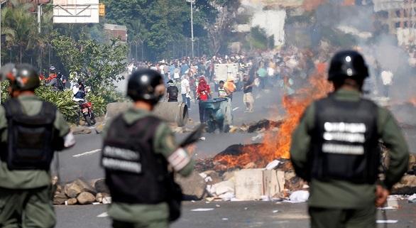 confrontos venezuela
