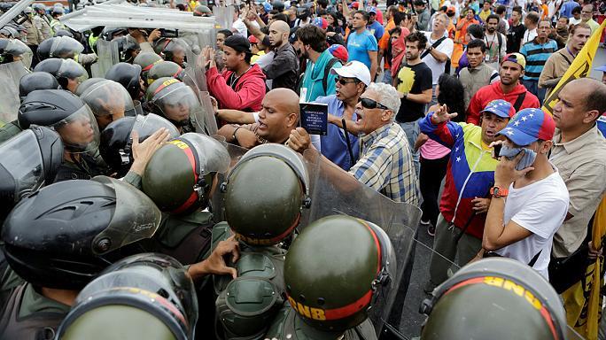 manifestação venezuela 2