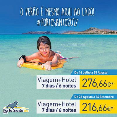 Junho e Julho no Porto Santo