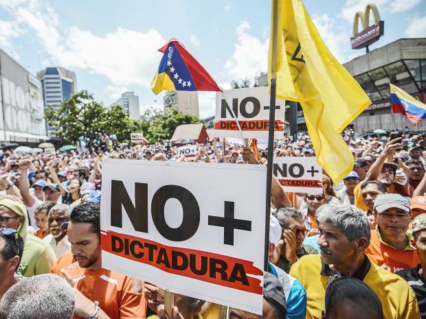 Venezuela protestos B