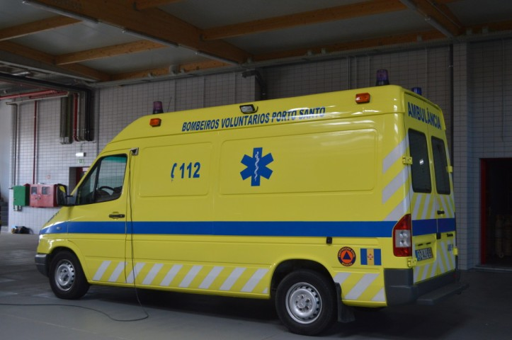 bombeiros ambulancia p santo