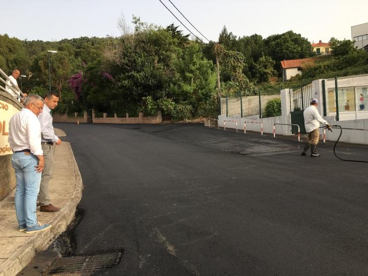 Caniço asfaltagem AA