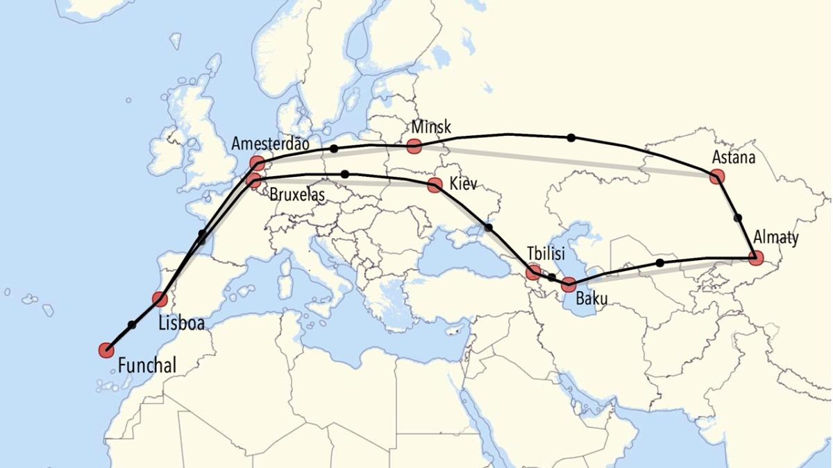 Crónica de viagens: balanço duma incursão ao Cáucaso... em comparação com os preços da TAP