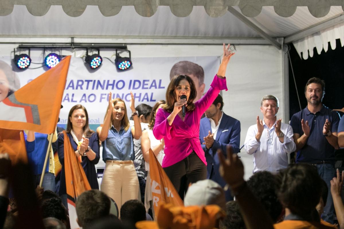 Rubina Leal prometeu investimento de mais de três milhões para o bairro da Nazaré
