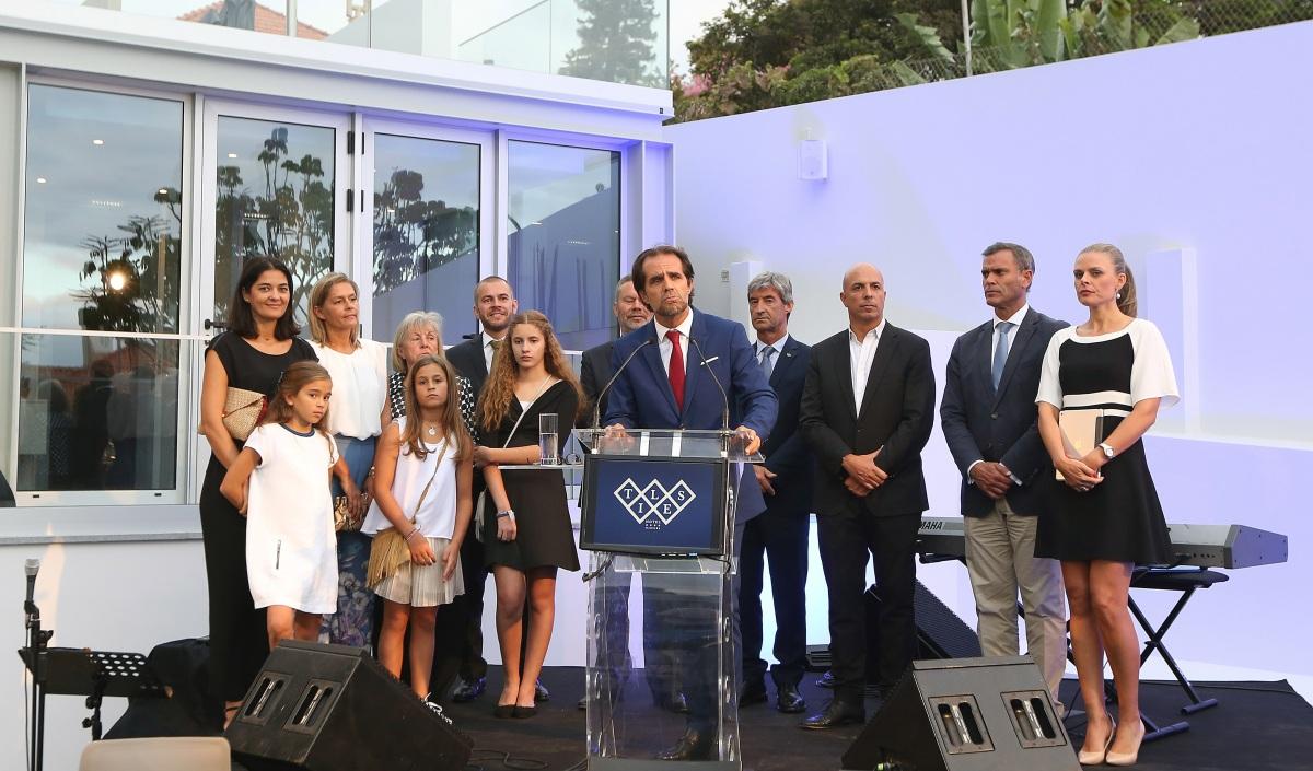 Hotel Tiles inaugurado ontem