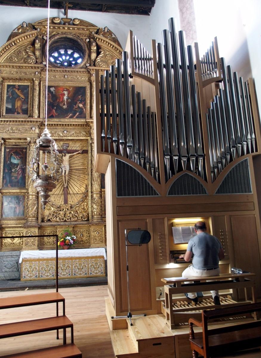 Órgão novo da Sé para derrubar retábulo do século XVII