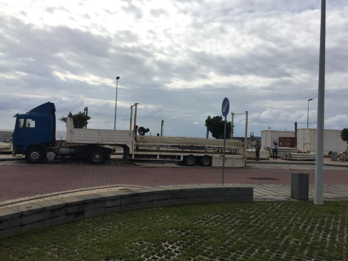 Parque de diversões de Natal prepara montagem na Avenida do Mar para piscar o olho a mais visitantes