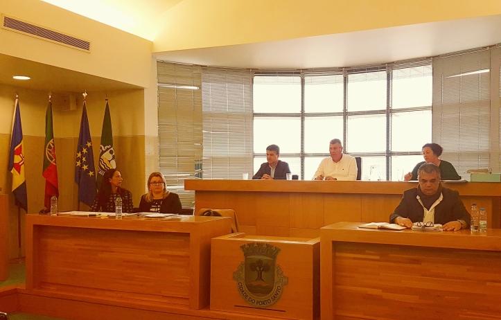 Câmara do Porto Santo reunião de 19-12