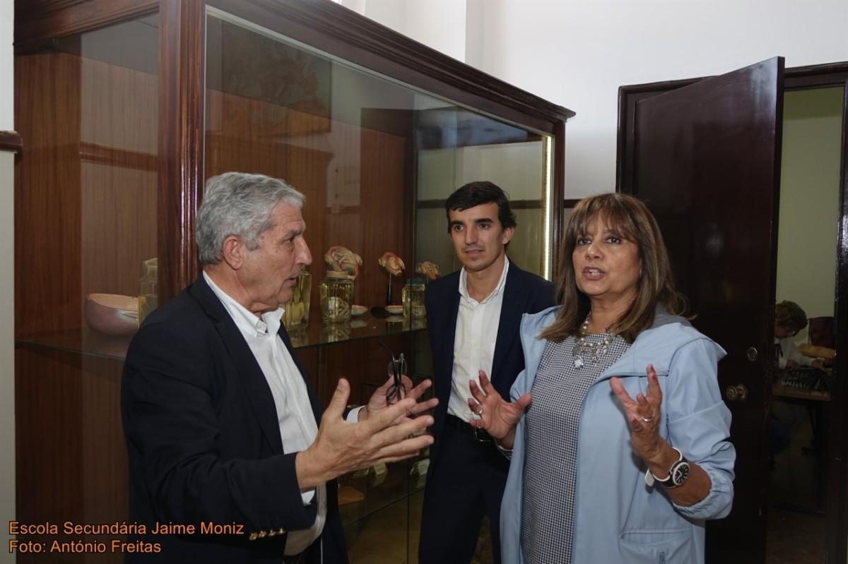 """Vereadores da Câmara do Funchal visitam renovado núcleo museológico """"O Lyceu"""""""