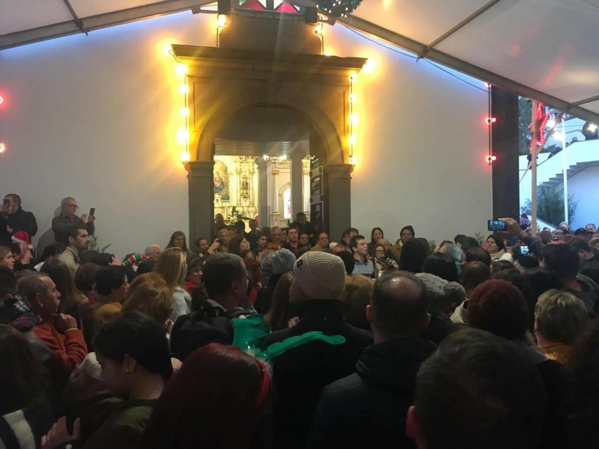 Missas do Parto levam milhares ao Curral das Freiras