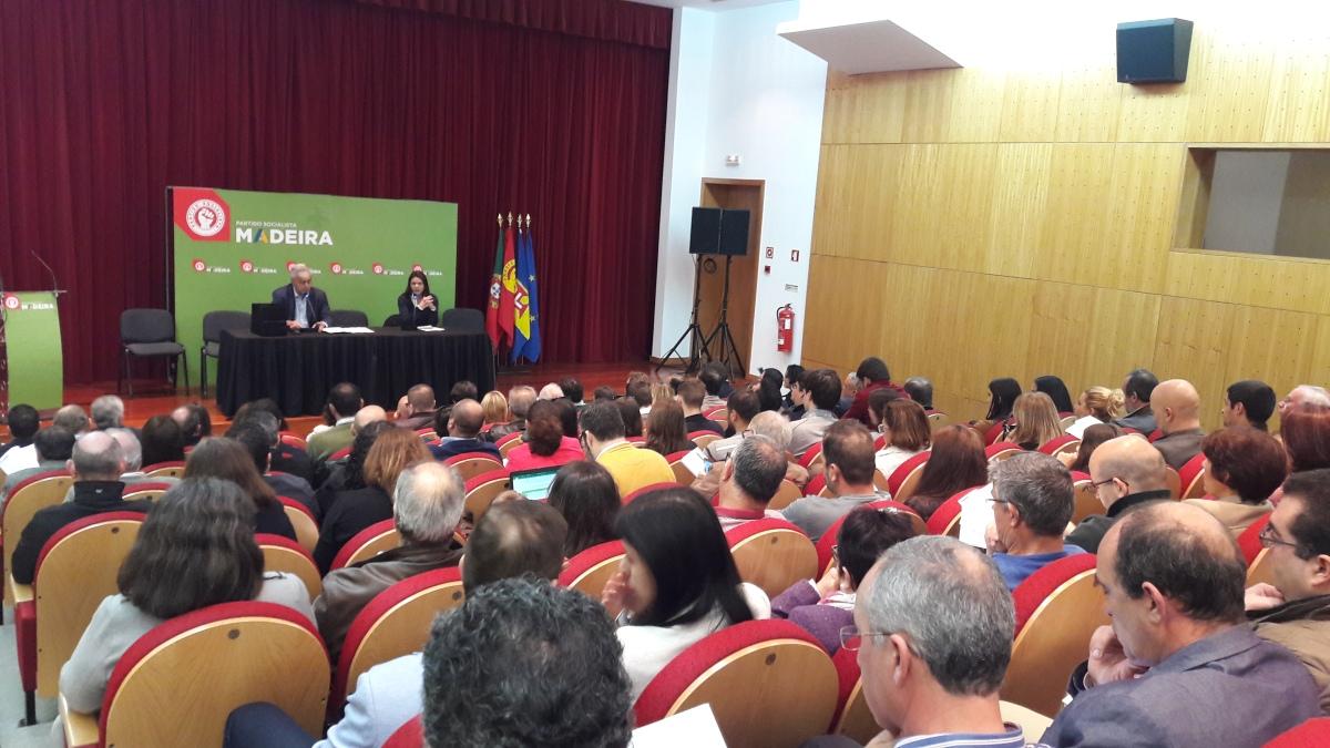 João Pedro Vieira novo secretário-geral do PS/M; Célia Pessegueiro, Avelino Conceição e Miguel Iglésias vice-presidentes