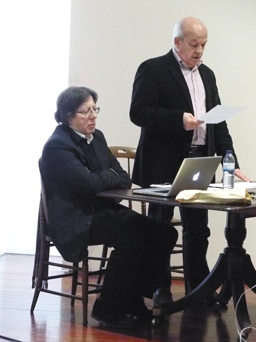 Nelson Veríssimo encheu sala no Museu de Arte Sacra com conferência sobre o Pe. Pita Ferreira