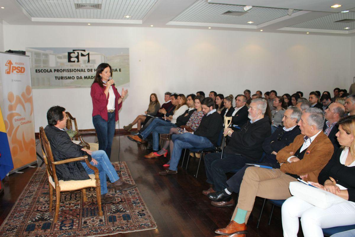 Concelhia do PSD-Funchal cerra fileiras com vista aos desafios eleitorais de 2019