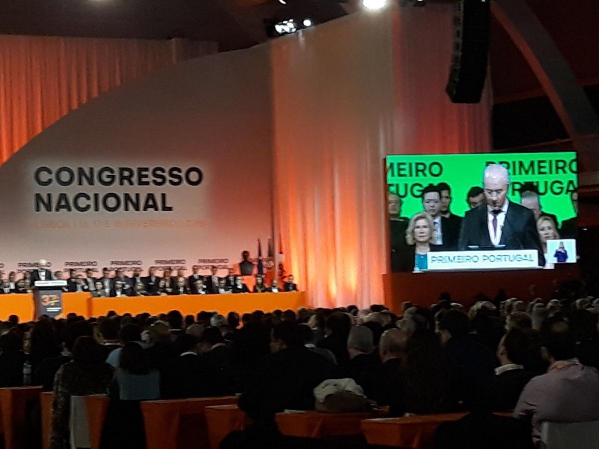 Congresso: Quatro madeirenses nos órgãos nacionais do PSD (veja discurso de encerramento de Rui Rio)