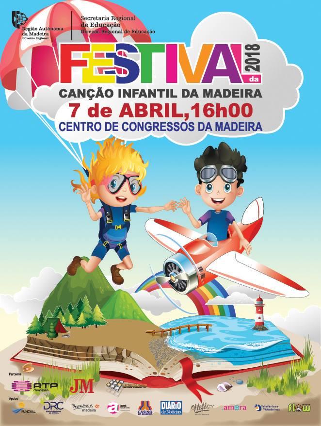 Resultado de imagem para festival da canção infantil da madeira 2018