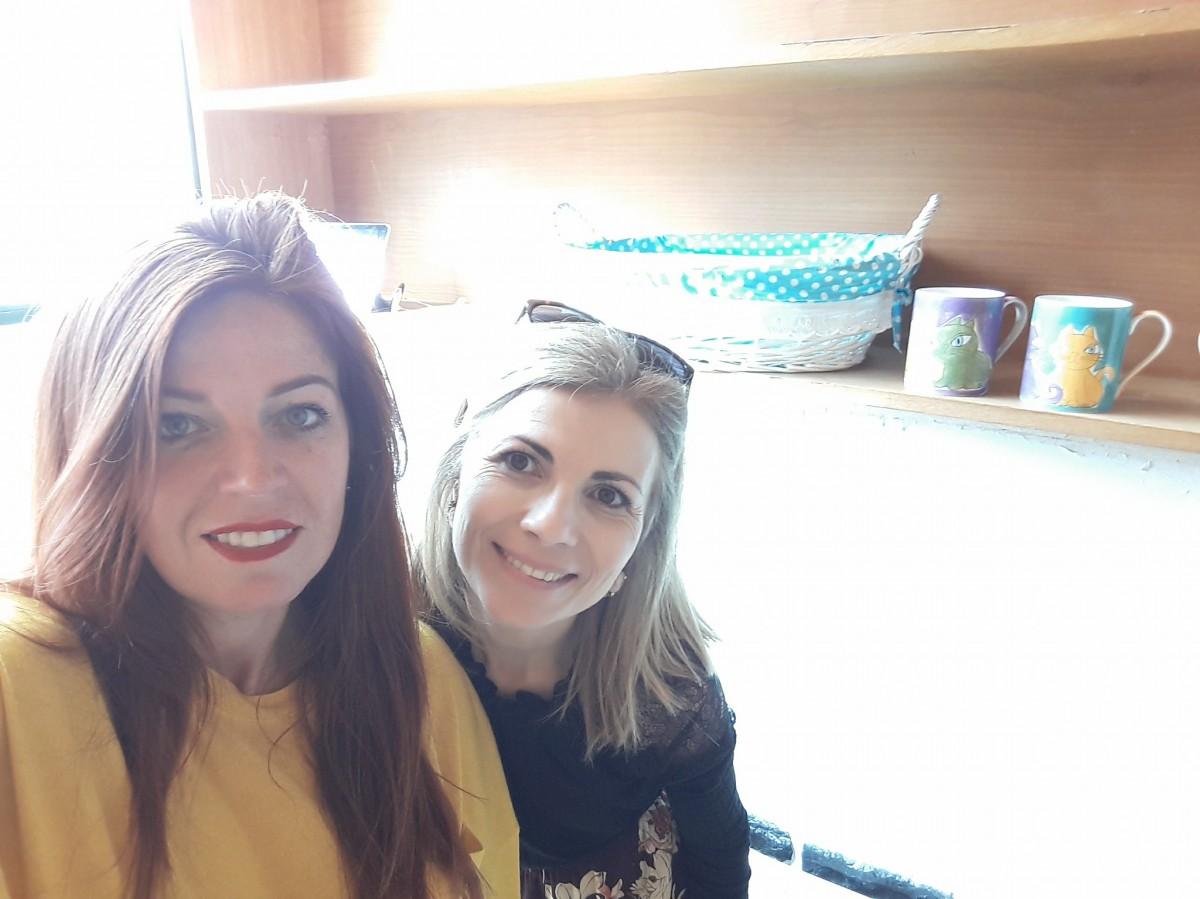 """Márcia Freitas e Sónia Duarte criam projeto """"Chá com elas - Oficinas Criativas"""""""