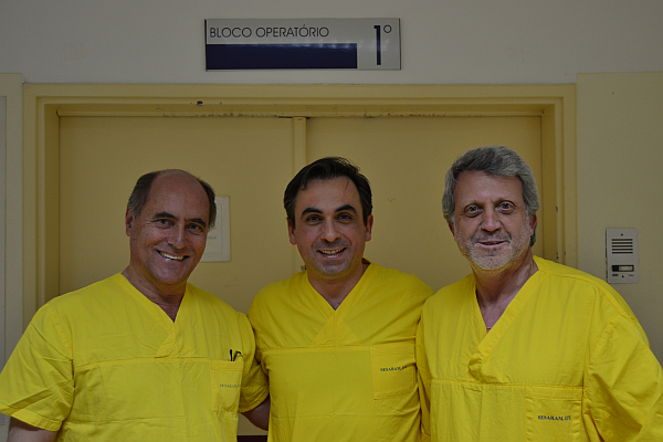 cirurgia inovadora médicos
