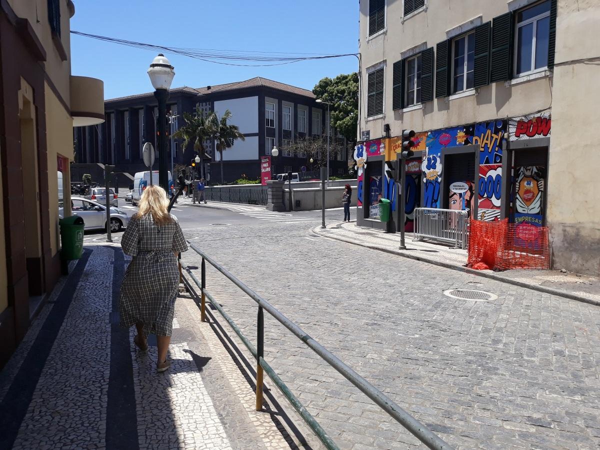 Bom Jesus abre para o parque de estacionamento, obras da segunda fase começaram hoje