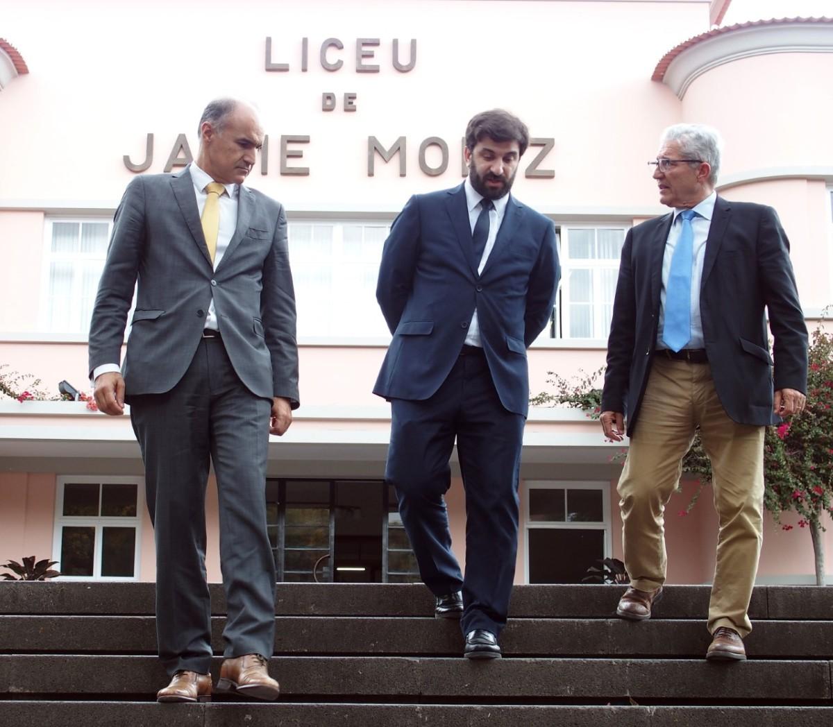 """Ministro da Educação está na Madeira e foi esta tarde ao """"Liceu"""""""