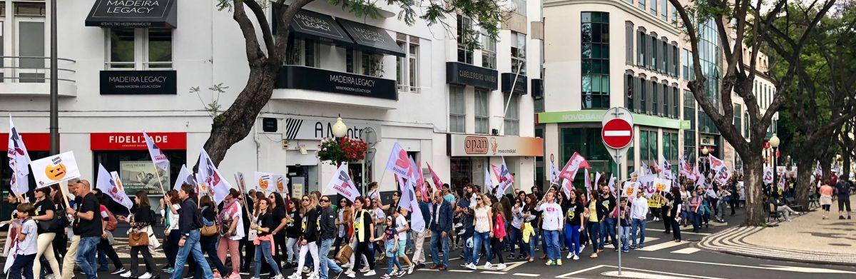 Professores madeirenses admitem greve no período de avaliações de final do ano letivo se a SRE não negociar até final de maio