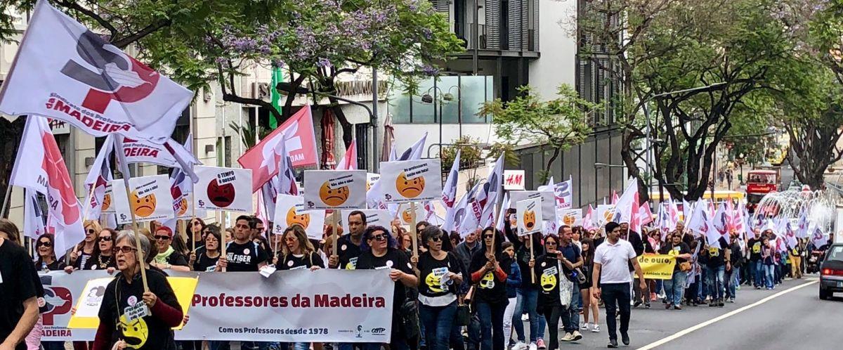 Professores da Madeira fazem greve às avaliações do final do ano letivo com início no dia 12 de junho